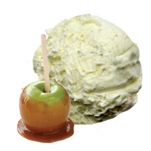 Green Apples with Salted Caramel