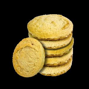 Pack Lemon & Strawberry Heart Cookies